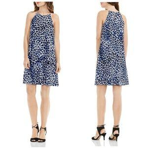 Vince Camuto Dresses - 76% OFF!  New VINCE CAMUTO Leopard Crepe Dress